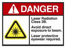 Laserklasse IIIb