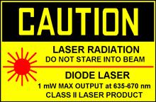Laserklasse II
