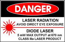 Laserklasse IIIa